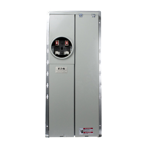 Eaton MBE2040PV200BTF Meter Center, 200A, 20/40, OH/UG, BR Type, 22 kAIC, Solar Ready