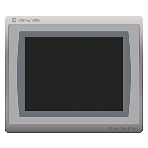 "Allen-Bradley 2711P-T10C21D8S Operator Interface, Panelview, Touch Screen, 10.4"", TFT Color, 24V DC"