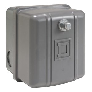Square D 9013GHG2J63 Pressure Switch, Water or Air, 575VAC, 145-175PSI, 300 Max PSI