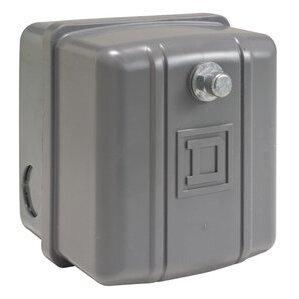 Square D 9013GHG2J30 Pressure Switch, Water or Air, 575VAC, 80-100PSI, 300 Max PSI