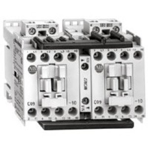 Allen-Bradley 104-C12D22 Contactor, Reversing, 12A, 3P, 110/120VAC, Coil, 1NO/NC