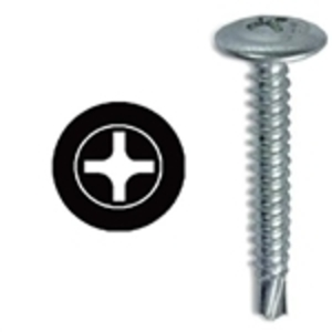 "Dottie TEKW812BK 1/2"" Self Drilling Screw (10000 Bulk Pack)"