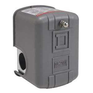 Square D 9013FSG2J21 Pressure Switch, Water, 30-50PSI Operating , 15-30PSI Differential