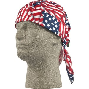 Lift Safety ACS-14F Skull Cap, American Flag