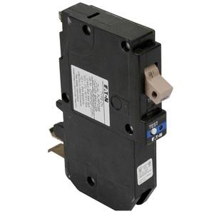 Eaton CHFAFGF115PN Breaker, 15A, 1P, 120/240V, 10 kAIC, Type CH, Combo AFCI/GFCI