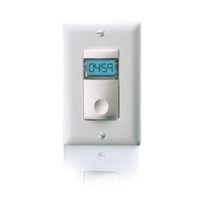 Wattstopper TS-400-24-W Low Voltage Digital Time Switch, White