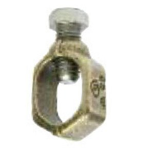 "Galvan G-5 Ground Rod Clamp, 5/8 to 1/2"", 2 to 10 AWG, Copper"