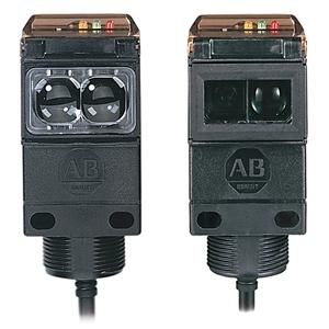 Allen-Bradley 42GRL-9002-QD Sensor, Photoelectric, Transmitted Beam, 10-264V AC/DC, 61m/200'