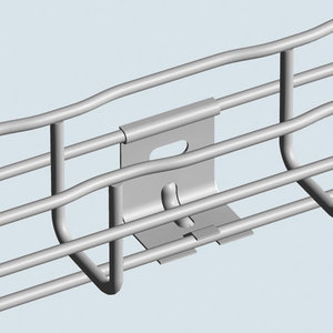 """Cablofil CAT30/41PG Snap-In Wall Hanger Support, 2"""" Wide Tray, Pre-Galvanized"""