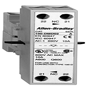 Allen-Bradley 100-DMD02 Contactor, Mechanical/Electrical Interlock, for 100-D115-D860