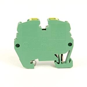 Allen-Bradley 1492-LMJG3 Terminal Block, Grounding, Green/Yellow, 26 - 12AWG, 2.5mm