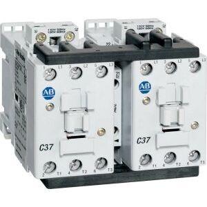 Allen-Bradley 104-C30D22 Contactor, Reversing, 30A, 3P, 120VAC, 1NO/NC