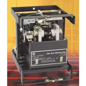 GE, Distributed by Parts Super Center CFD22B1A Relay, High Speed Differential, Restraining, 1PH, 5A, 2P, Size S1