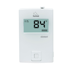 NuHeat AC0057 ELEMENT Thermostat, 15A, Energy use Monitoring