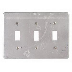 Appleton FSK-3TS FS Device Box Cover, 3-Gang, Maleable Iron