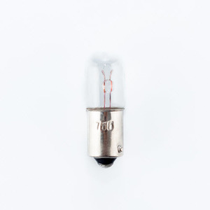 Candela 755 Miniature Incandescent Lamp, T3.25, .95W, 6.3V, BA9s Base