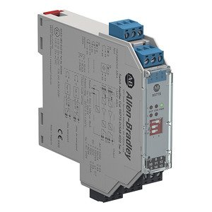Allen-Bradley 937TS-DISAR-KD2 937 Isolated Barrier, 20mm Module (Standard Density), Digital In I/O Type, Switch Amplifier with Relay Output, 115V AC, Dual Channel