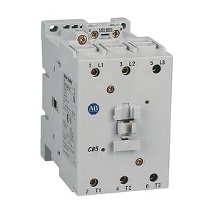 Allen-Bradley 100-C85D10 Contactor, IEC, 85A, 3P, 120VAC, 1NO