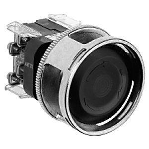 Allen-Bradley 800T-N310J Push Button, Jumbo Protective Guard, 60mm, Push-Pull, 30mm