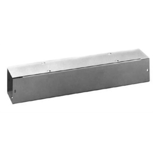 "Unity P44120GGFL Lay-In Wireway, Type 1, Screw Cover, 4"" x 4"" x 120"", Steel, Galvanized"