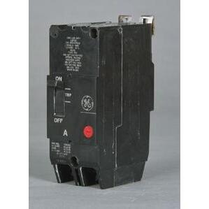 GE Industrial TEY215 Breaker, Bolt On, 15A, 480/277VAC, 2P, Molded Case, 14kAIC