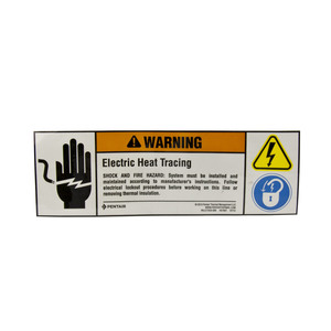 Raychem ETL Electric Trace Labels