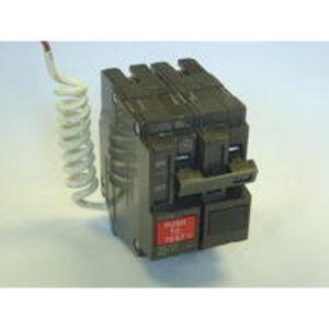 GE THQL2115GF1 Breaker, 15A, 2P, 120V, 10 kAIC, Q-Line Ground Fault