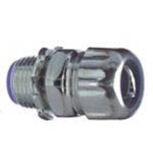 "Thomas & Betts 5334-TB Liquidtight Connector, Straight, 1"", Insulated, Steel"