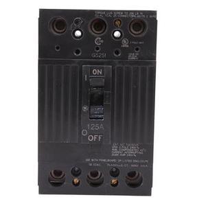 GE Industrial TQD32125WL 3-pole 240v 10k Ic 125amp W/lugs