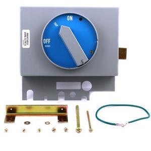 GE TJR1B Breaker, Molded Case, Vertical, TDR Integral Handle,
