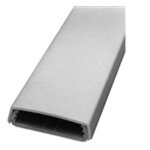 "Wiremold 2300BAC Raceway Base & Cover, Non-Metallic, Ivory, 2-1/4"" x 5'"