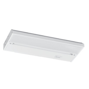 "AFX (American Fluorescent) NLL14WH2 Undercabinet Light, LED, 14"", 7.3W, 120V, White Gloss Enamel"