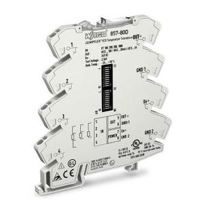 Wago 08570800 Temperature Module, Signal Conditioner, RTD Sensors, 24VDC, 6mm Width
