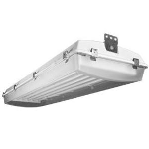 LEI FLBRS-454-U Fluorescent Low Bay, Rough Service, 4-Lamp, 54W, T5, 120-277V