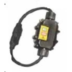 Ericson XG2-14-2S In-Line GFCI, Molded-On Plug & Connector, 15A, Auto, 2'