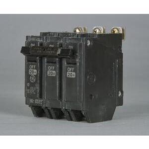 Parts Super Center THHQB32020 Breaker, 20A, 240VAC, 3P, Bolt On, 22kAIC