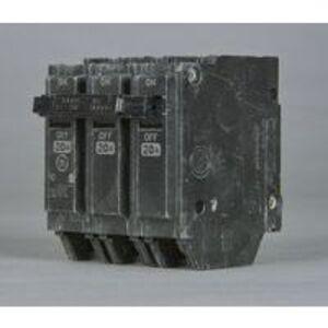 GE THHQL32050 Breaker, 50A, 240VAC, 3P, 22kAIC, Stab-In