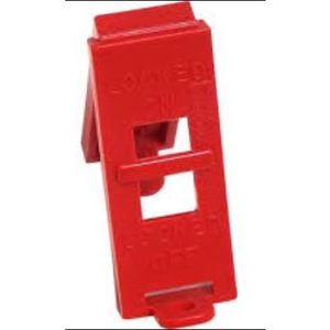 Ideal 44-789 Wall Switch Lockout, Red