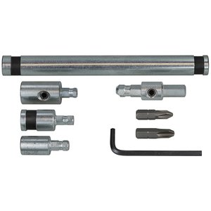 Dottie IT1000 Concrete Screw Installation Tool, Phillips and Hex Head.