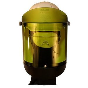 Cementex AFS-150 Arc Flash Face Shield w/ Hard Hat, Yellow