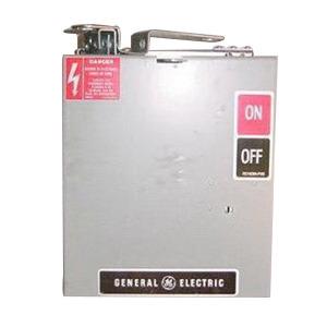 GE Industrial AC362RG Busway Plug; 480/600 Volt, 60 Amp, 3 Phase