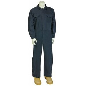 Cementex CCVL11-XL Arc Flash Protection Coverall, Navy Blue - X-Large