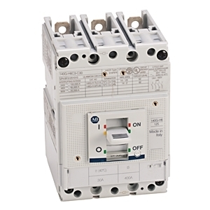 Allen-Bradley 140G-H6X3 Molded Case Circuit Breaker, 65 kA at 480V, H frame