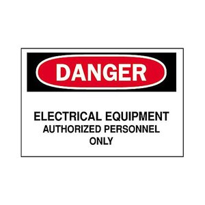 Brady 84068 Electrical Hazard Sign