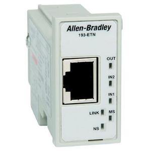 Allen-Bradley 193-ETN Relay, Overload, E1 Plus, EtherNet/IP, Protection Module