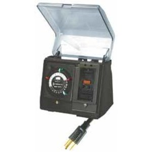 Intermatic P1101 Outdoor Timer, Portable, Plug-In