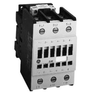 GE CL01A310TJ Contactor, IEC, 13.8A, 460V, 3P, 120VAC Coil, 1NO Auxiliary