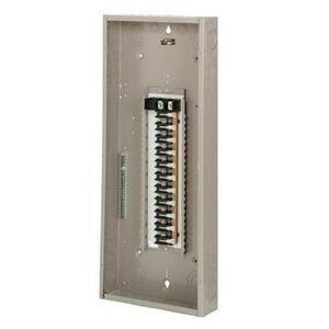 Eaton CH42L3225G Load Center, Main Lug, 225A, 120/240V, 3PH, 42/42, NEMA 1