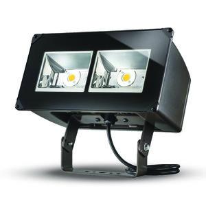 Lumark NFFLD-A40-T Flood Light, LED, 129W, 120-277V, Carbon Bronze