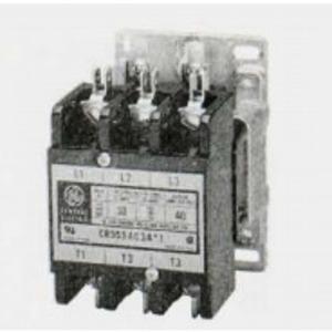 GE CR353AD3BA1 Contactor, Definite Purpose, 40A, 3P, 120VAC Coil